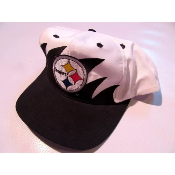 c432e784 Vintage Pittsburgh Steelers Sharktooth Snapback